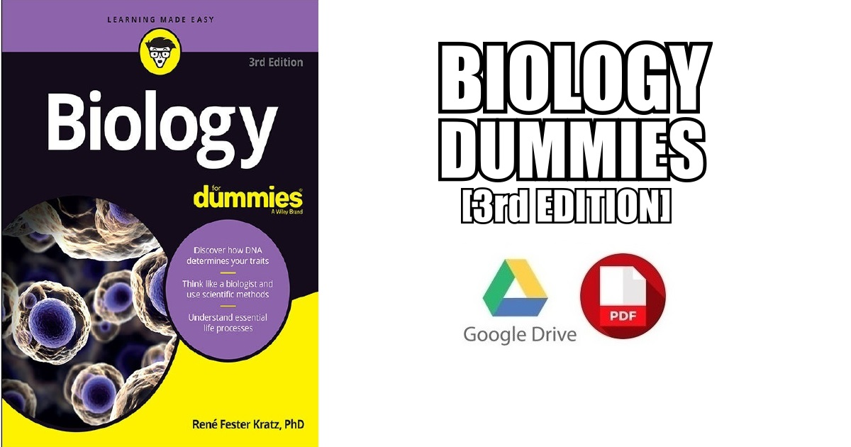 Biology For Dummies 3rd Edition PDF Free Download [Direct Link]
