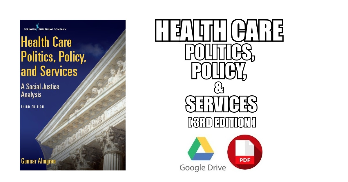 Health Care Politics, Policy, and Services PDF