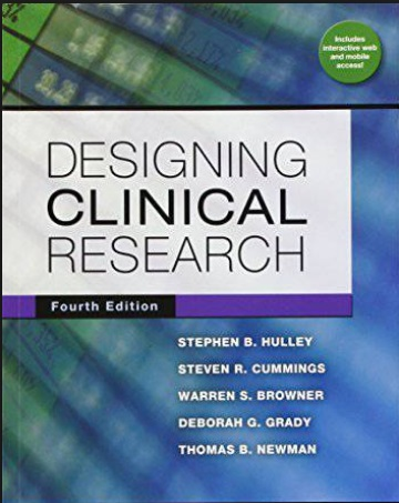 Designing Clinical Research PDF