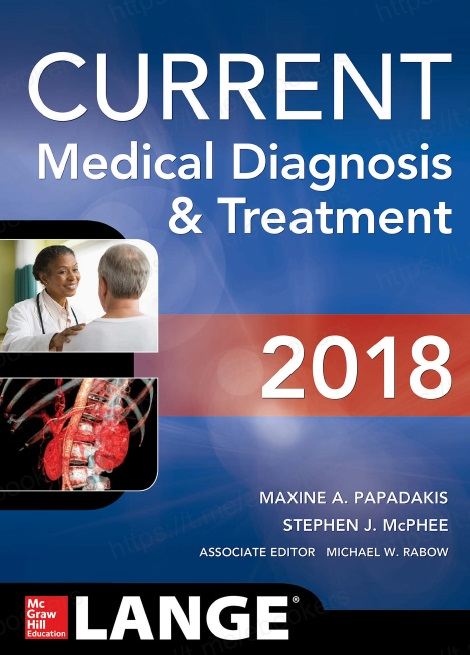 CURRENT Medical Diagnosis and Treatment 2018, 57th Edition PDF