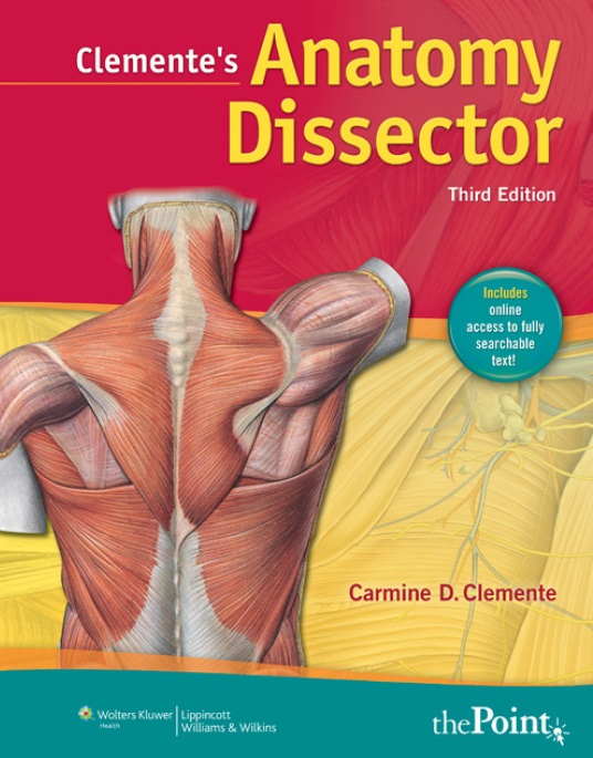 Clemente's Anatomy Dissector 3rd Edition PDF