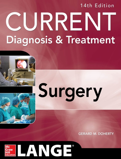 Current Diagnosis and Treatment Surgery PDF