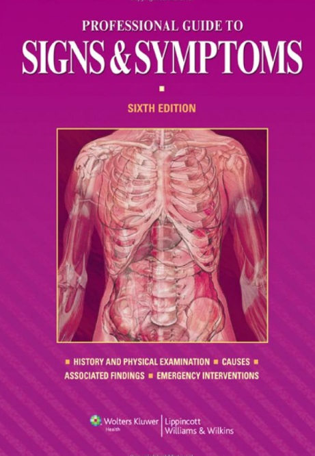 Professional Guide to Signs and Symptoms 6th Edition PDF