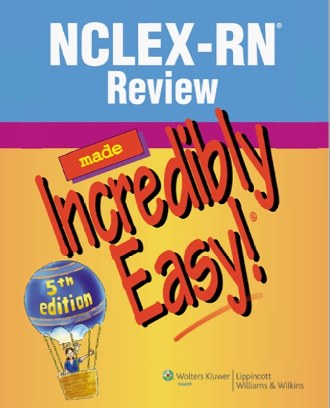 NCLEX-RN Review Made Incredibly Easy PDF