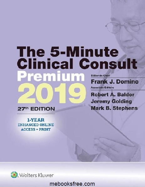 The 5-Minute Clinical Consult 2019 PDF