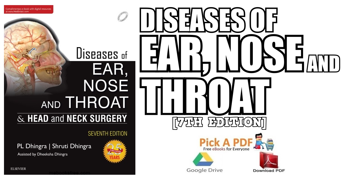 Diseases of Ear, Nose and Throat 7th Edition PDF