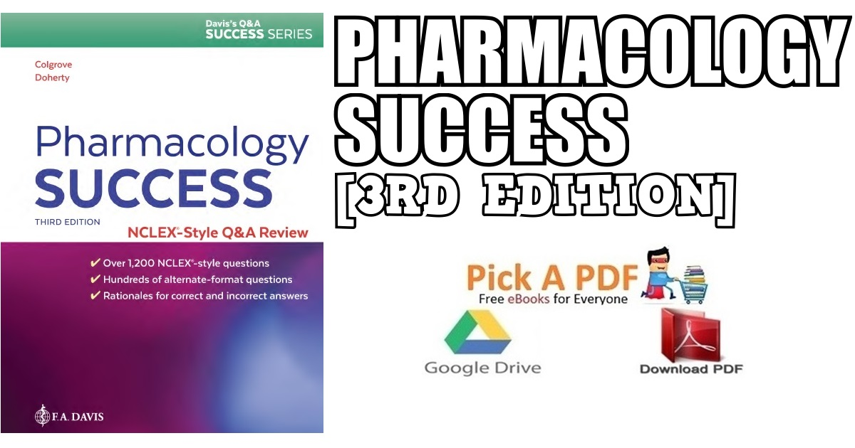Pharmacology Success 3rd Edition PDF