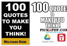 100 Quotes to Make You Think PDF