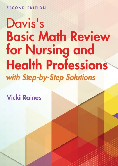 Davis's Basic Math Review for Nursing and Health Professions PDF