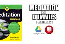 Meditation For Dummies PDF