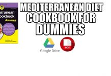 Mediterranean diet cookbook for dummies PDF