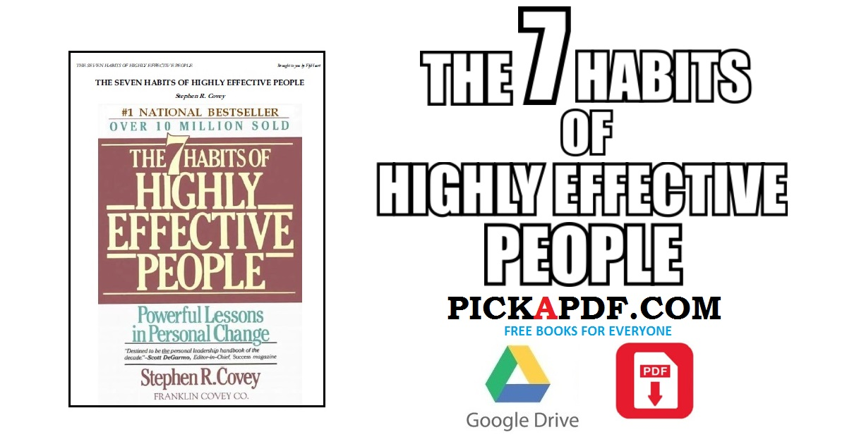 The 7 Habits Of Highly Effective People PDF