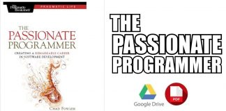 The Passionate Programmer 1st Edition PDF