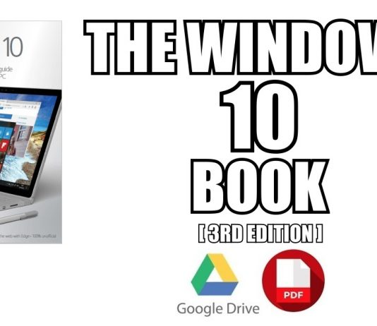 The Windows 10 Book PDF