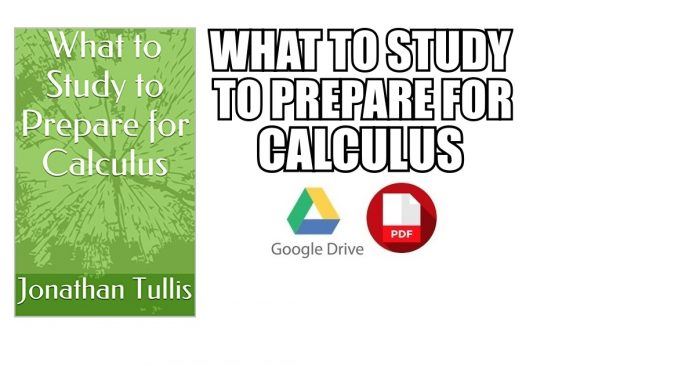What to Study to Prepare for Calculus pdf