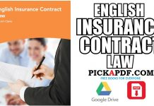 English Insurance Contract Law PDF