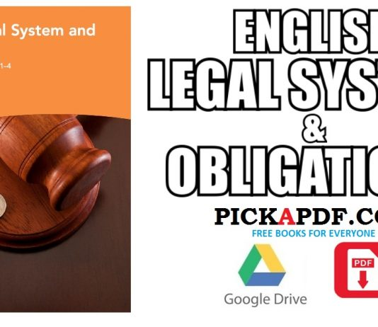 English Legal System and Obligations PDF