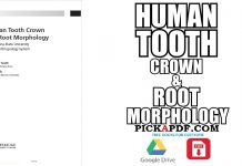 Human Tooth Crown and Root Morphology PDF
