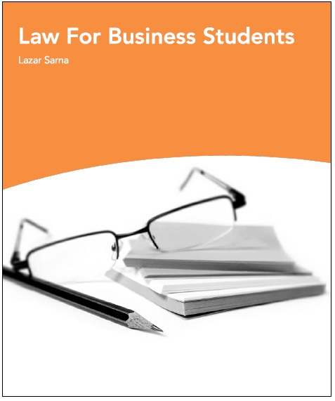 Law For Business Students PDF
