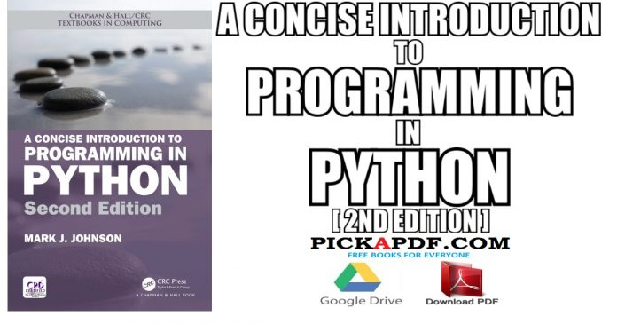 A Concise Introduction to Programming in Python PDF