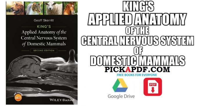 Applied Anatomy of the Central Nervous System of Domestic Mammals PDF