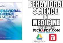 Behavioral Science in Medicine 2nd Edition PDF