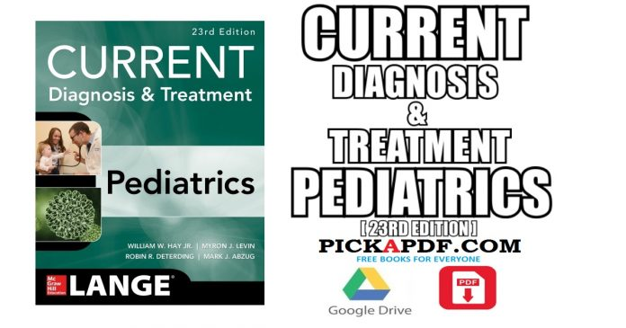 CURRENT Diagnosis and Treatment Pediatrics PDF