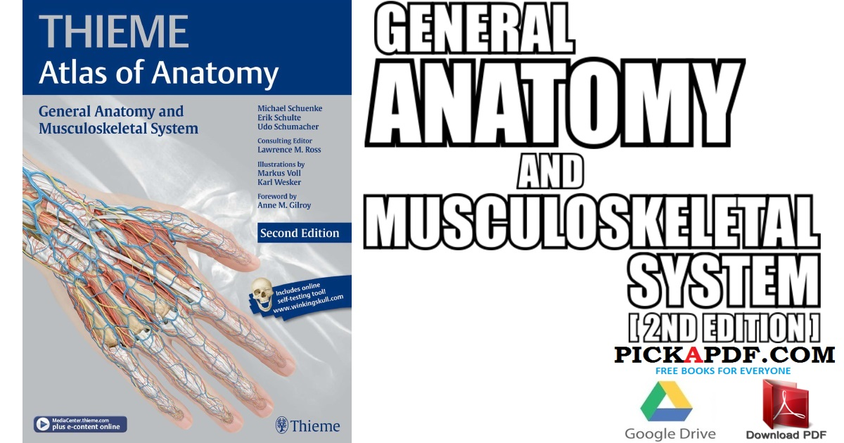 General Anatomy and Musculoskeletal System PDF Free Download