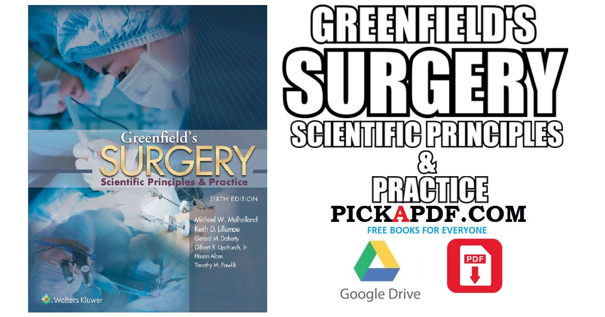 Greenfield\'s Surgery PDF Free Download [Direct Link]