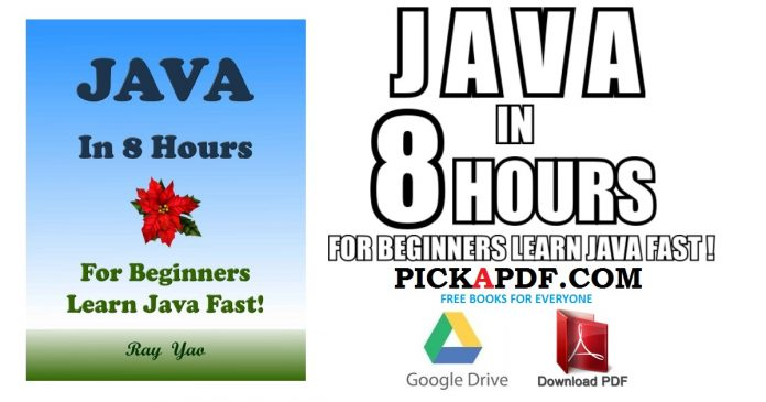 JAVA In 8 Hours PDF