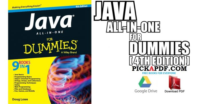 Java All-in-One For Dummies 4th Edition PDF