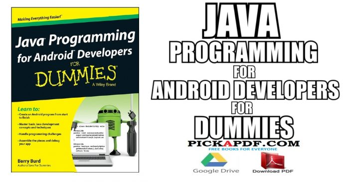 Java Programming for Android Developers For Dummies PDF