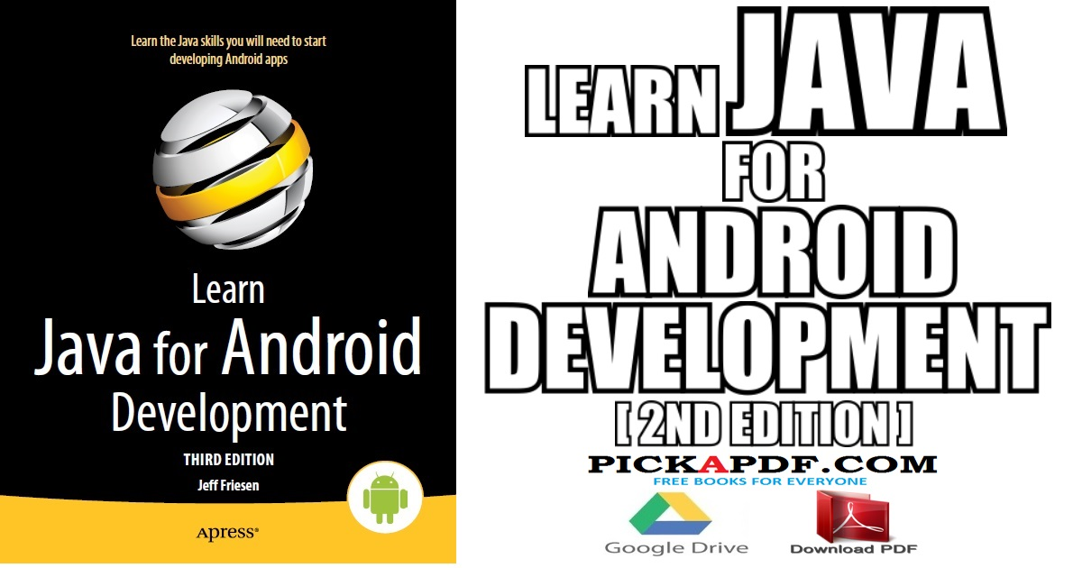 Learn Java for Android Development PDF Free Download [Direct Link]