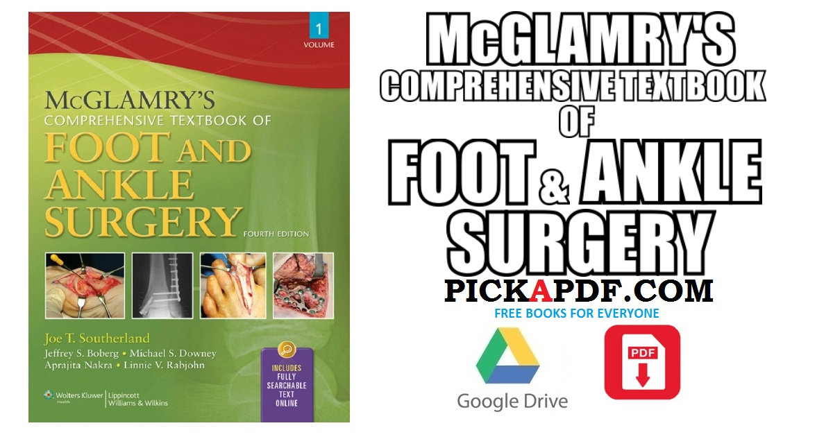 Foot and ankle surgery ebook array mcglamry u0027s comprehensive textbook of foot and ankle surgery pdf free rh pickapdf com fandeluxe Gallery