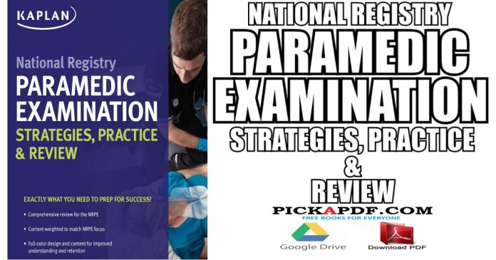 National Registry Paramedic Examination Strategies, Practice & Review PDF