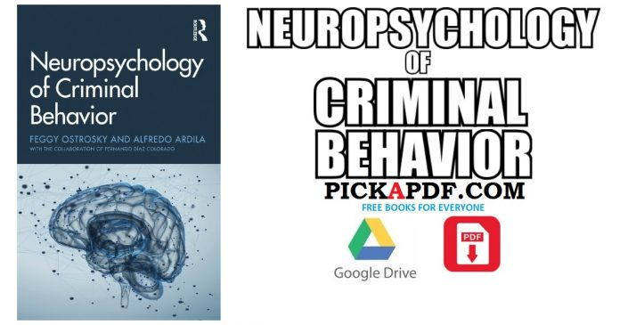 Neuropsychology of Criminal Behavior PDF