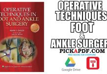 Operative Techniques in Foot and Ankle Surgery PDF