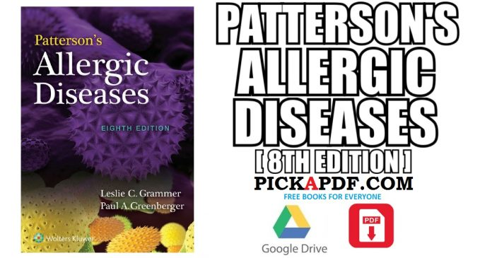 Patterson's Allergic Diseases PDF
