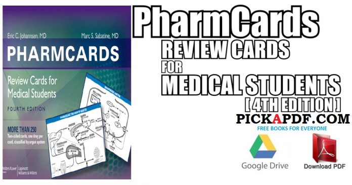 PharmCards: Review Cards for Medical Students PDF