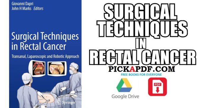 Surgical Techniques in Rectal Cancer PDF
