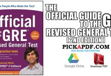 The Official Guide to the GRE Revised General Test 2nd Edition PDF