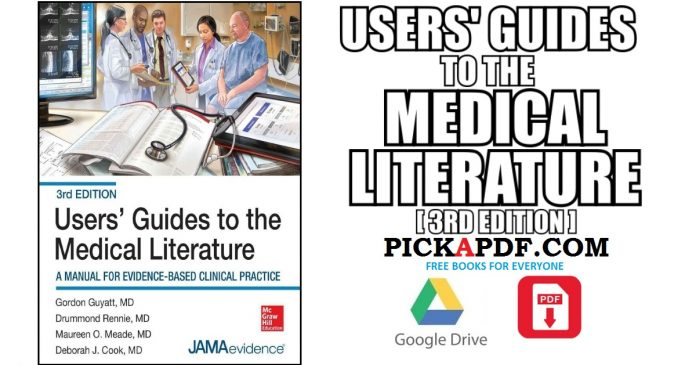 Users' Guides to the Medical Literature PDF