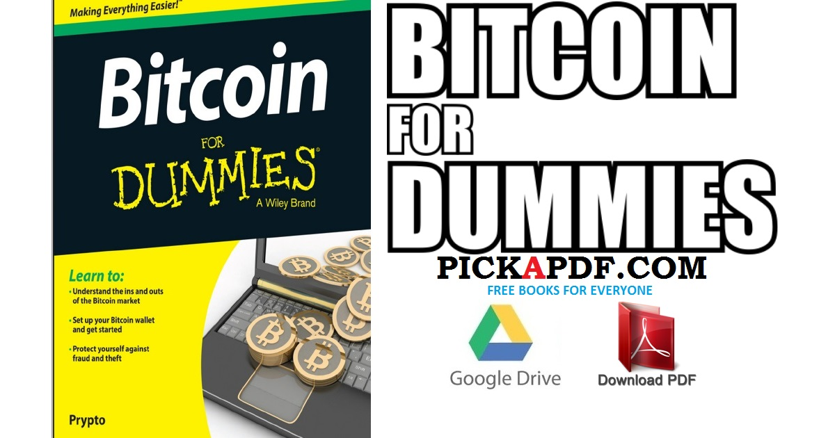 Bitcoin For Dummies Pdf Free Download Direct Link