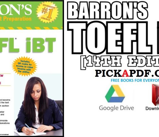 Barron's TOEFL iBT 14th Edition PDF