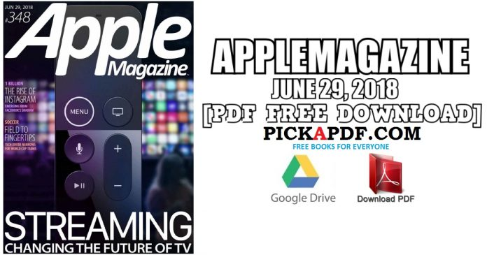 AppleMagazine - June 29, 2018 PDF