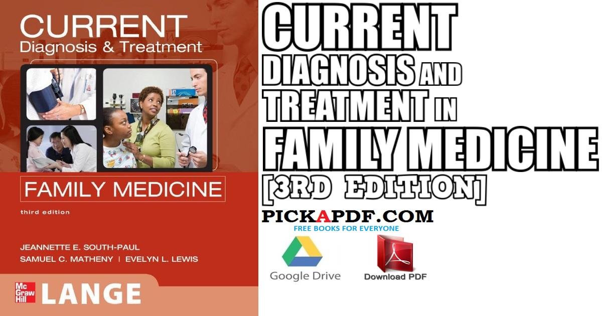 CURRENT Diagnosis & Treatment in Family Medicine PDF