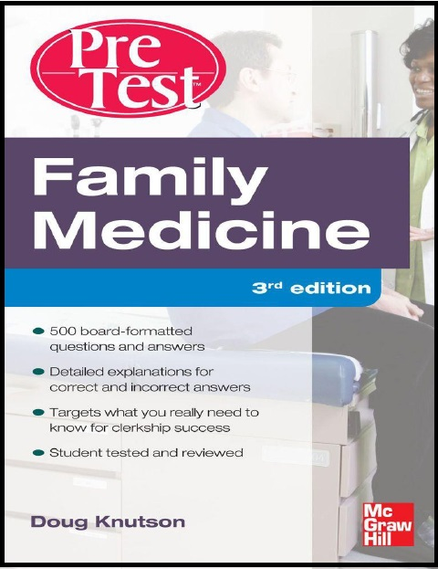 Family Medicine PreTest Self-Assessment And Review Third Edition PDF