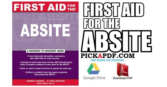 First Aid for the ABSITE PDF