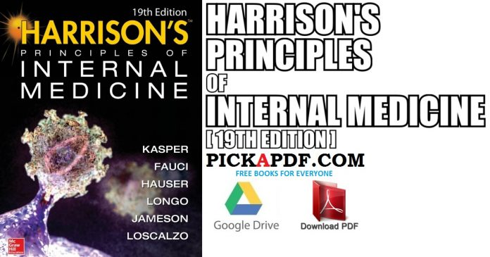 Harrison's Principles of Internal Medicine 19th Edition PDF