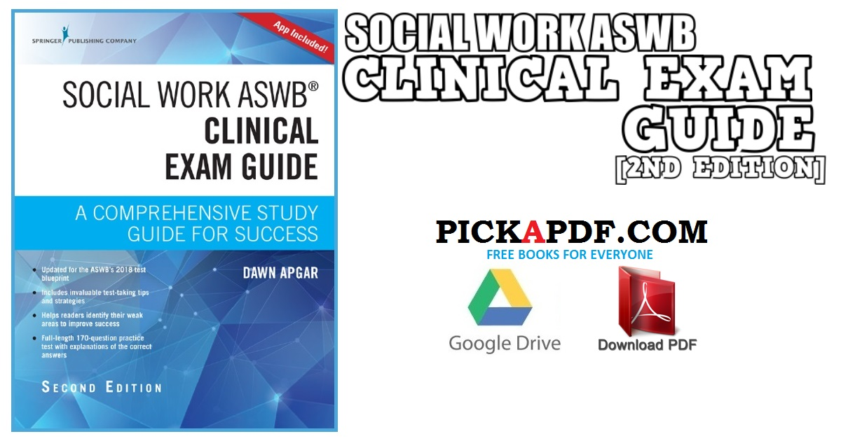 Social Work ASWB Clinical Exam Guide PDF